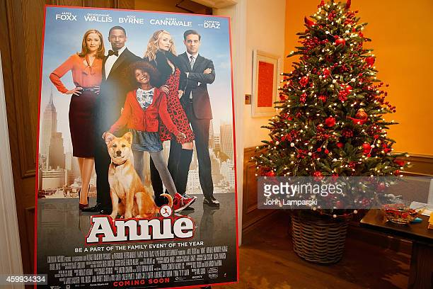 Atmosphere at the'Annie' Cast Photo Call at Crosby Street Hotel on December 4 2014 in New York City