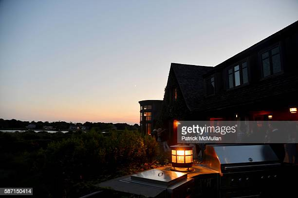 Atmosphere at Tom Diane Tuft and Christina Cuomo Celebrate the Launch of Jay McInerney's New Novel Bright Precious Days at Private Residence on...