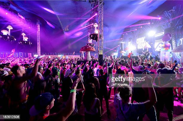 Atmosphere at TomorrowWorld Electronic Music Festival on September 29 2013 in Fairburn Georgia