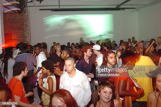 Atmosphere at TUFF GONG Clothing Launch Party hosted by ROHAN MARLEY and STEFANO ALDIGHIERI at Drive In Studios on July 19 2005 in New York City