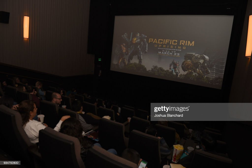 Universal Pictures hosts a Los Angeles Special Screening of Pacific Rim Uprising on Monday, March 19 with special guests William Valdes and Vivian Fabiola
