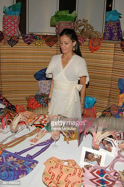 Atmosphere at Wayuu Taya Foundation Dinner at Tribeca Grand Hotel NYC USA on June 20 2005