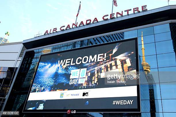 Atmosphere at WE Day Toronto at the Air Canada Centre on October 1, 2015 in Toronto, Canada.