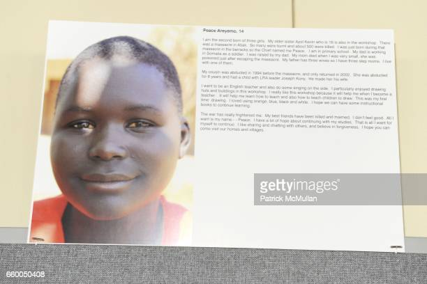 Atmosphere at WELCOME TO GULU EXHIBITION AND BENEFIT ART SALE ANTIHUMAN TRAFFICKING INNITIATIVE at The United Nations on May 12 2009 in New York City