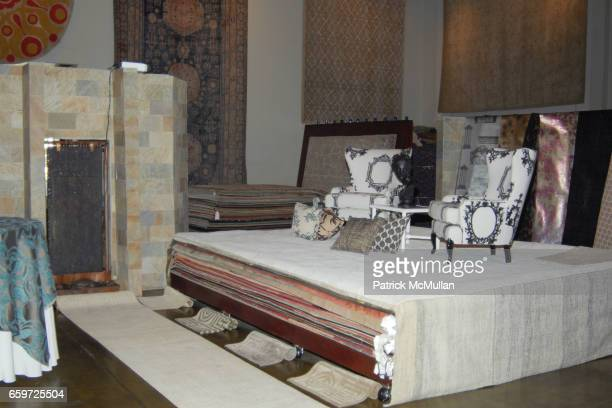 Atmosphere at WOVEN ACCENTS Introduces The FLORENCE BROADHURST Rug Collection During West Week at Woven Accents on March 26 2009 in West Holywood...