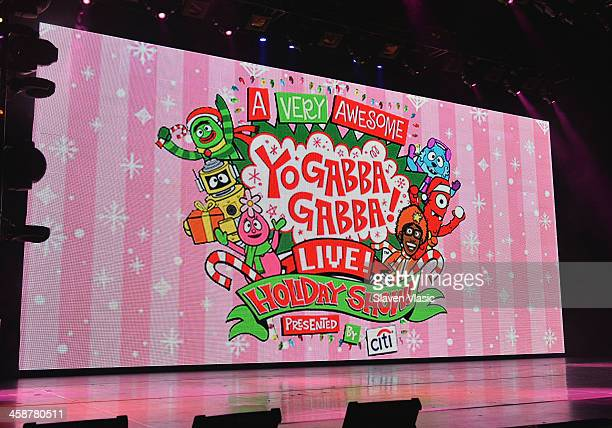 Atmosphere at Yo Gabba Gabba Live at The Beacon Theatre on December 21 2013 in New York City