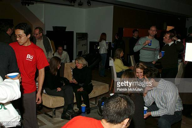 Atmosphere attends BoConcept KolDesign Hoilday Party at BoConcept on December 14 2005 in New York City