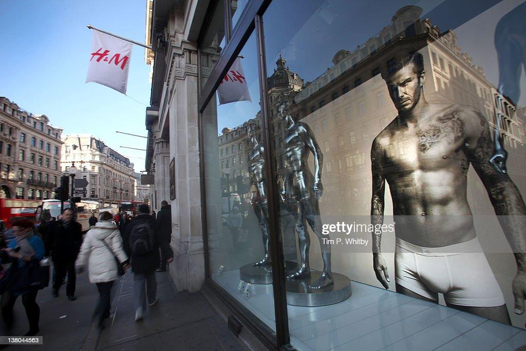 David Beckham Launches Bodywear for H&M : News Photo