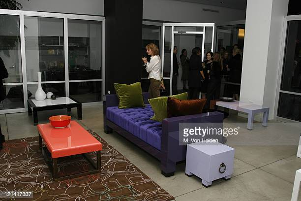 Atmosphere, Carlos Mota Design during The Launch of Carlos Mota for Villency Atelier Hosted by Eric Villency and Margaret Russell - November 15, 2006...