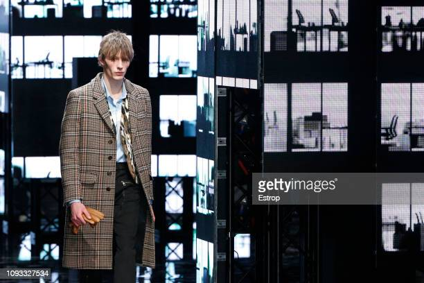 Atmosphere detail at the Neil Barrett show during Milan Menswear Fashion Week Autumn/Winter 2019/20 on January 12 2019 in Milan Italy