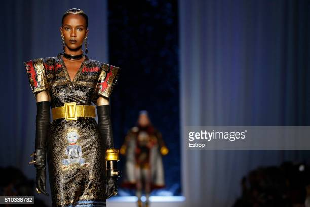 Atmosphere detail during the Jean Paul Gaultier Haute Couture Fall/Winter 2017-2018 show as part of Haute Couture Paris Fashion Week on July 5, 2017...