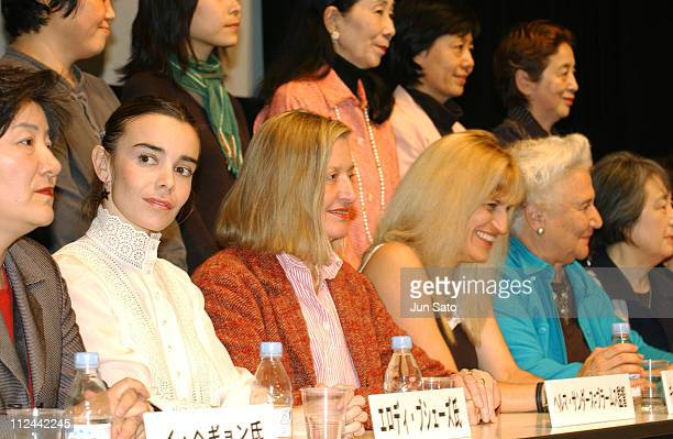 Atmosphere during 17th Annual Tokyo International Women's Film Festival Press Conference at Tokyo Women's Plaza Hall in Tokyo Japan