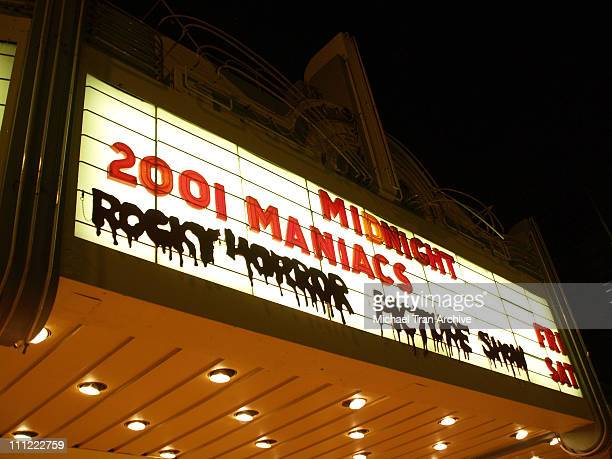 Atmosphere during '2001 Maniacs' Midnight Tour Kickoff Party at The Nuart in West Los Angeles California United States
