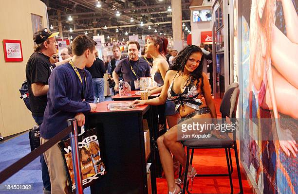 Atmosphere during 2005 AVN Expo at Sands Convention Center in Las Vegas Nevada United States