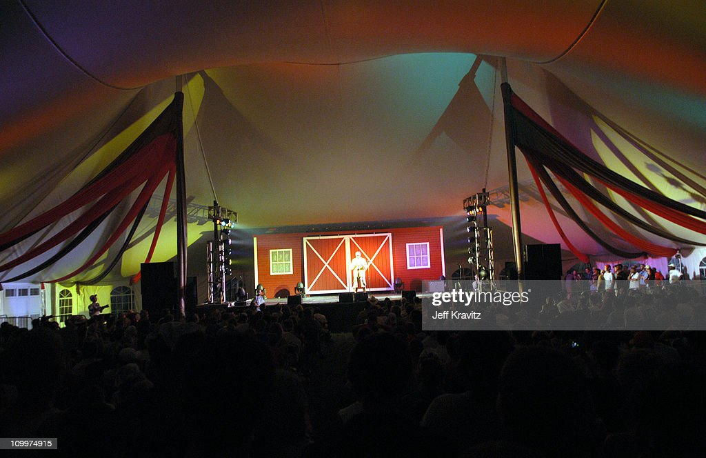 atmosphere during 2005 Bonnaroo - Pre-Festivities - Charlie Murphy at Yet Another Comedy Tent in Manchester, Tennessee, United States.