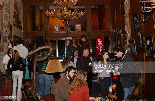 """Atmosphere during 2005 Park City - """"How the Garcia Girls Spent Their Summer"""" Party at Levi's Ranch in Park City, Utah, United States."""