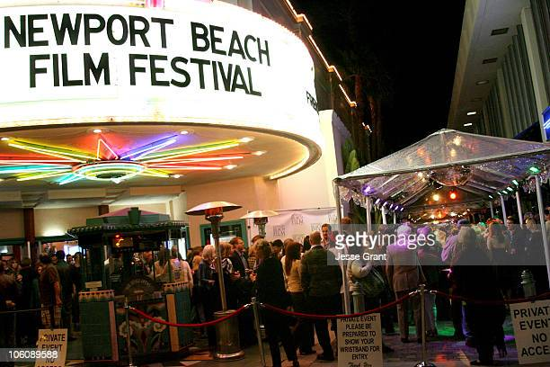 Atmosphere during 2006 Newport Beach Film Festival The Illusionist Screening and After Party at Lido Theatre in Newport Beach California United States