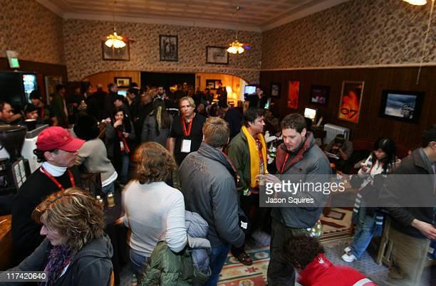 Atmosphere during 2007 Sundance Film Festival PBS Wine Escape at Filmmaker Lounge in Park City Utah United States