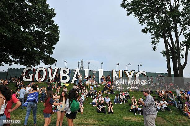 Atmosphere during 2016 Governors Ball Music Festival Day 1 at Randall's Island on June 3 2016 in New York City