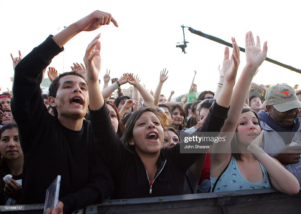 Atmosphere during 21st Annual SXSW Film and Music Festival - BMI Presents Public Enemy, X-Clan and Ozomatli at Town Lake Stage in Austin, Texas, United States.