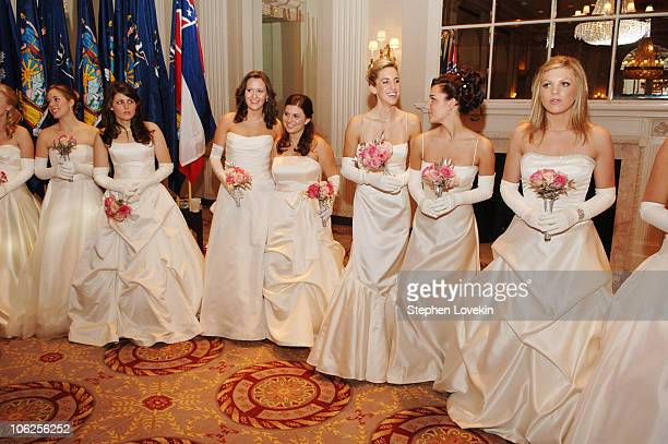Atmosphere during 52nd Annual International Debutante Ball - Receiving Line at The Waldorf Astoria Hotel in New York City, New York, United States.