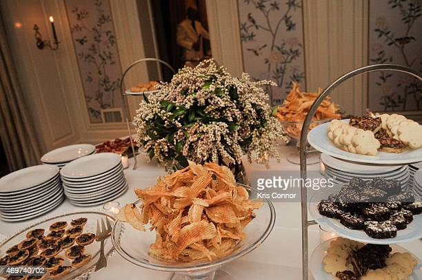 Atmosphere during a reception to honor New Washington DC Editor Giovanna Gray Lockhart by Glamour Editor In Chief Cindi Leive at a private residence...