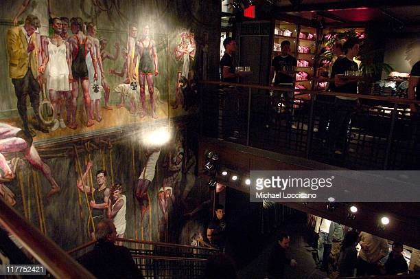 Atmosphere during Abercrombie Fitch Store Opening on 5th Avenue in New York City at A F 5th Avenue in New York City New York United States