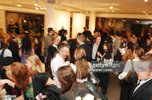 Atmosphere during Allure Magazine and Lancome Unveil 'Most Alluring Bodies' Photo Exhibit at MILK Studios in New York City, NY, United States.