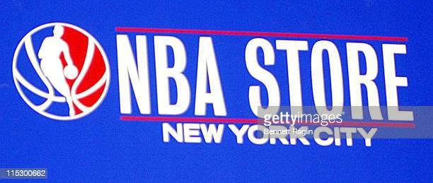 Atmosphere during Aly AJ Perform at the NBA Store at NBA Store in New York New York United States
