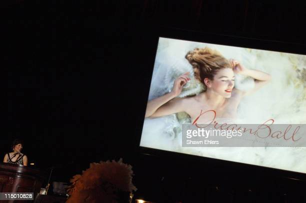 Atmosphere during American Cancer Society and Cosmetic Industry's DreamBall at Waldorf Astoria in New York City, New York, United States.