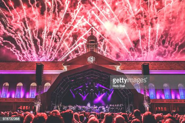 Atmosphere during Andrew Lloyd Webber A Musical Celebration as part of his 70th Birthday celebration at The Royal Hospital Chelsea on June 17 2018 in...