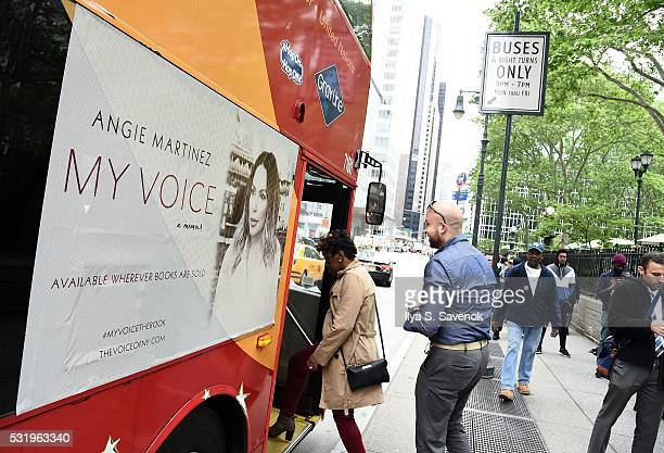 Atmosphere during Angie Martinez Ride Of Fame ride with My Voice at Bryant Park on May 17 2016 in New York City
