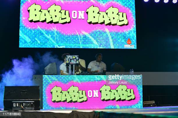 Atmosphere during Baby on Baby Feat Dababy Lil Durk NLE Choppa in concert at Watsco Center on September 27 2019 in Coral Gables Florida