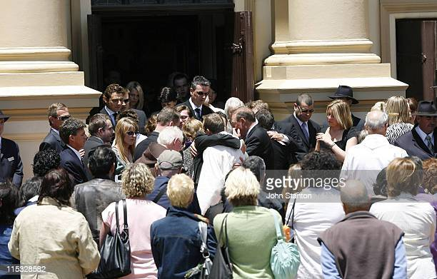 Atmosphere during Belinda Emmett Funeral Service at Mary Immaculate Church in Sydney New South Wales Australia