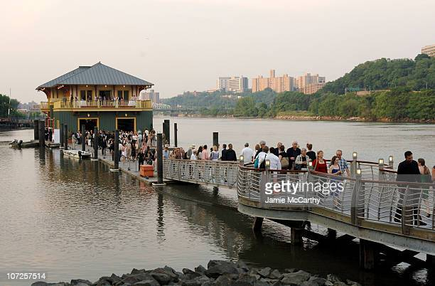 Atmosphere during Bette Midler's New York Restoration Project Hosts The Sixth Annual Spring Picnic at Swindler Cove Park in New York City New York...