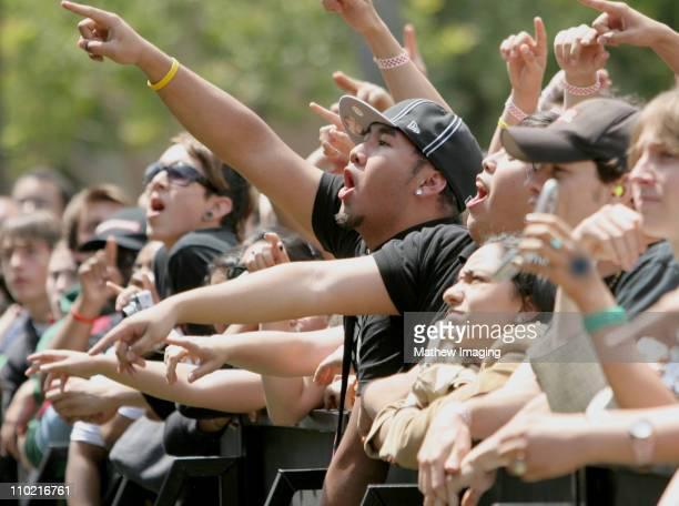 Atmosphere during Big Show 5 Presents Jimmy Eat World and Taking Back Sunday at California State University Northridge in Northridge, California,...