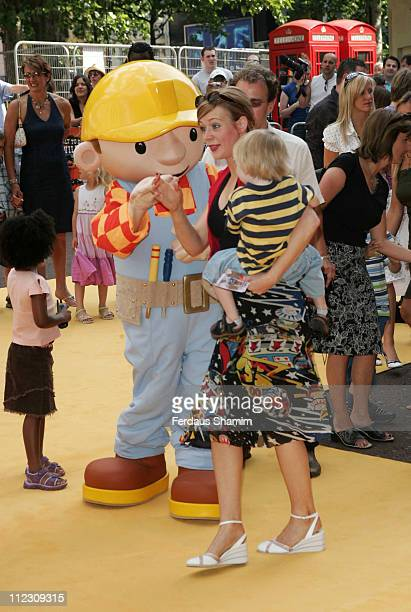 Atmosphere during Bob the Builder Built to be Wild London Premiere at Odeon West End in London Great Britain