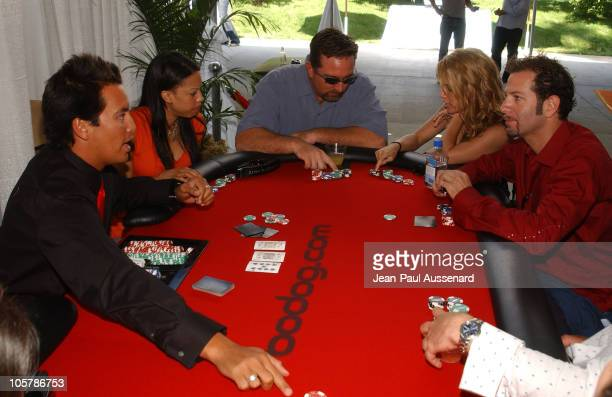 Atmosphere during bodog.com at The Silver Spoon Pre-Emmy Hollywood Buffet - Day 1 at Private residence in Beverly Hills, California, United States.