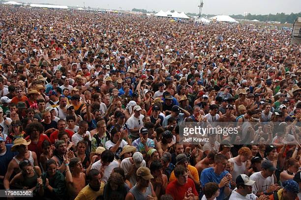 Atmosphere during Bonnaroo 2005 Day 1 The Allman Brothers Band at What Stage in Manchester Tennessee United States