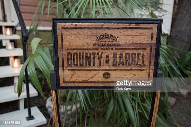 Atmosphere during Bounty Barrel A Jack Daniel's Single Barrel Dinner Series Visits Austin With Chef Paul Qui Benefitting Urban Roots at Justine's...