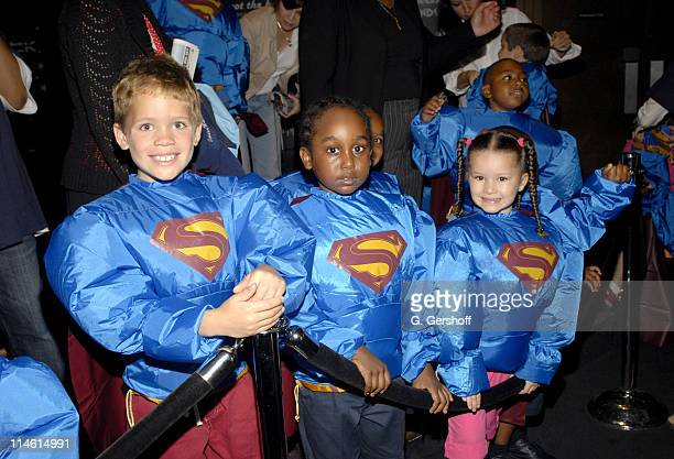 Atmosphere during Brandon Routh Unveils Superman Wax Figure at Madame Tussauds New York June 27 2006 at Madame Tussauds New York in New York City New...
