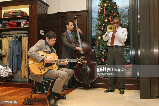 Atmosphere during Brook Brothers Join with Rabi Gellman and Father Tom Hartman at The Manhassett Location December 4 2005 at Brooks Brothers...