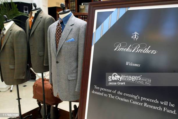 Atmosphere during Brooks Brothers Brunch to Benefit the Ovarian Cancer Research Fund at Brooks Brothers, Beverly Hills in Beverly Hills, California,...