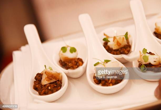 Atmosphere during Bruno Magli Presents A Taste Of Italy CoHosted By Food Wine Scott Conant on December 1 2015 in New York City