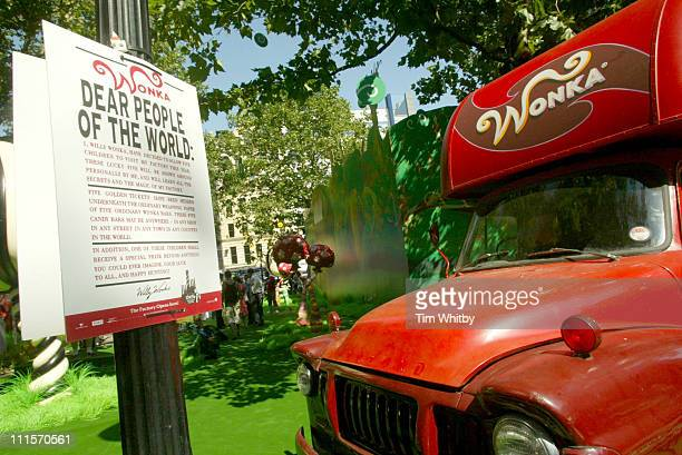 Atmosphere during Charlie and the Chocolate Factory London Premiere Inside Arrivals at Odeon Leicester Square in London Great Britain