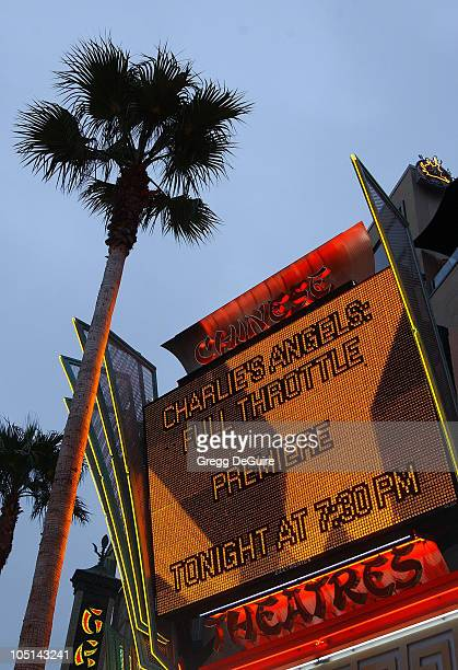 """Atmosphere during """"Charlie's Angels 2 - Full Throttle"""" Premiere at Mann's Chinese Theater in Hollywood, California, United States."""