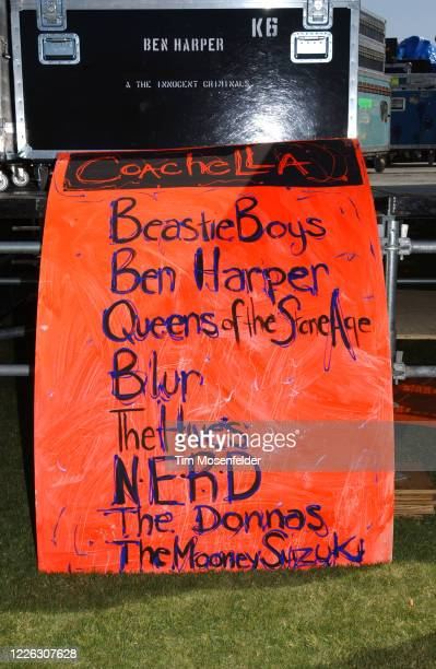 Atmosphere during Coachella 2003 at the Empire Polo Fields on April 26, 2003 in Indio, California.