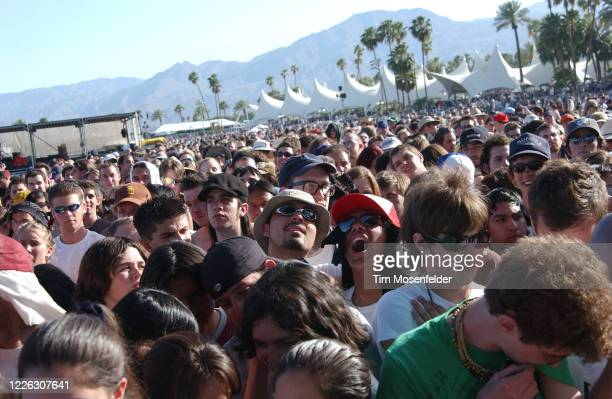 Atmosphere during Coachella 2003 at the Empire Polo Fields on April 27, 2003 in Indio, California.