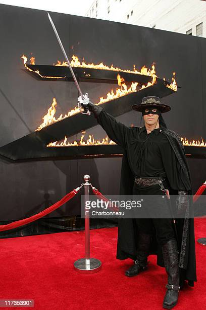 Atmosphere during Columbia Pictures' The Legend of Zorro Los Angeles Premiere at Orpheum Theater in Los Angeles California United States