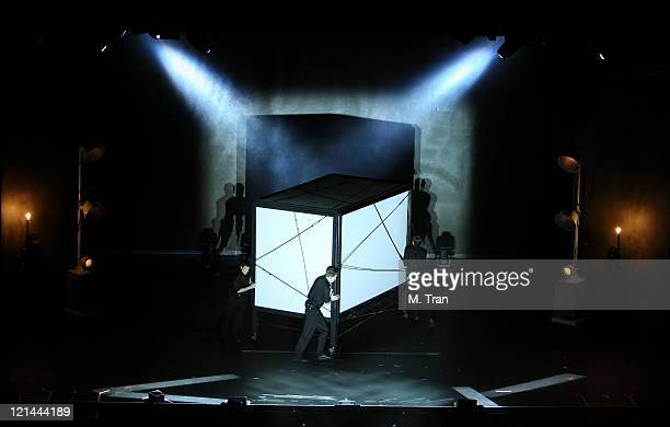 Atmosphere during David Copperfield's 'An Intimate Evening of Grand Illusion' Show at Kodak Theater in Hollywood California United States